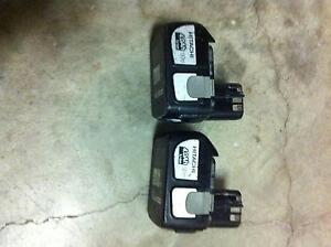 Hitachi 18V 4 a/h battery x2 Loganholme Logan Area Preview