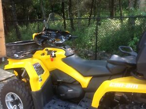 Brand new Can-am Outlander with tons of accessories