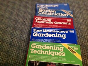 Gardening books and more