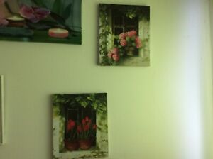 2 lovely accenting wall picture. ( price for both)