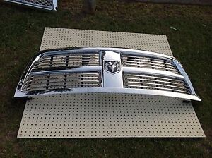 Dodge grill 2013 up