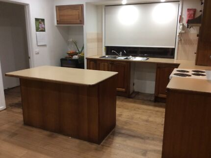 Second hand Tasmanian Blackwood Kitchen