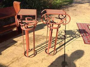 2 metal art deco style stands Chipping Norton Liverpool Area Preview