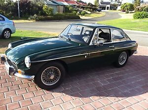 1972 MGB GT British Racing Green & Wire Wheels Clarkson Wanneroo Area Preview