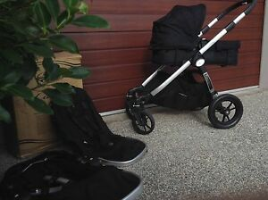 Onyx Baby Jogger City  Select Double + Bassinet + Extras Lalor Whittlesea Area Preview