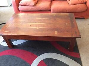 Hard wood coffee table Mount Barker Plantagenet Area Preview