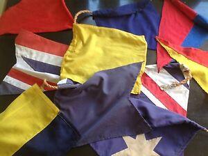 Vintage Ship signal flags New Farm Brisbane North East Preview