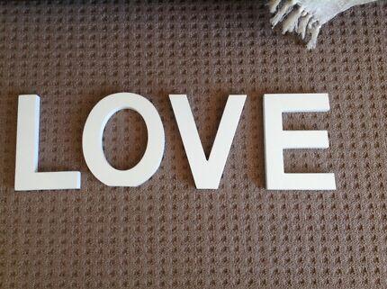 Home decor - Letters