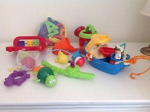 Variety of bath time toys Kalamunda Kalamunda Area Preview