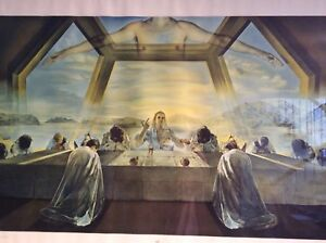 Salvador Dali The Sacrament of The Last Supper Original print