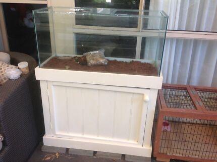 3 Foot Reptile Enclosure/Aquarium With Stand