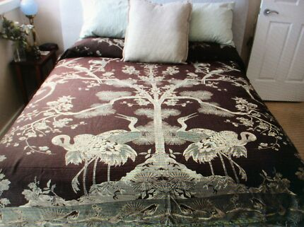 Reversible Bed Spread / Furniture 'throw'