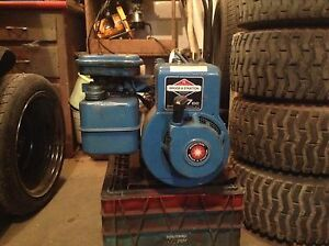 Briggs and Stratton motor