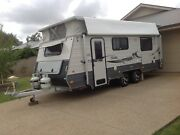 Coromal Atlas 2014, 18'6  PopTop, Two Axle Caravant. Howlong Albury Area Preview