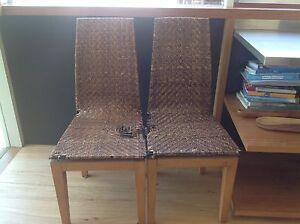 Dining chairs x 2 Balgowlah Manly Area Preview