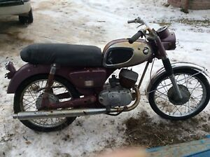 1966 Kawasaki Aircraft F1 175cc Project or For Parts