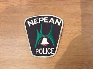 Nepean police patch