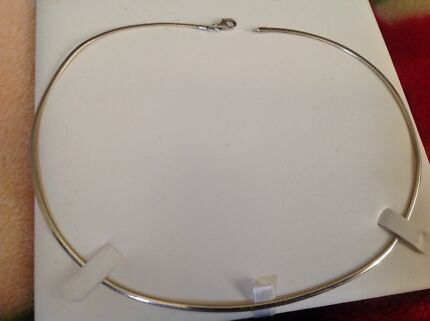 10ct gold Omega flip yellow gold to white gold 46cm