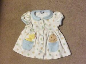 0 to 3 months soft baby girl dress