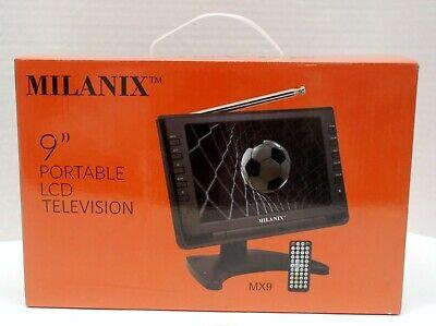 "Milanix 9"" Portable LCD Television"