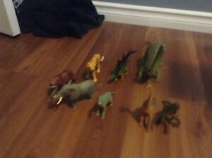 Dinosaurs and animals for sale
