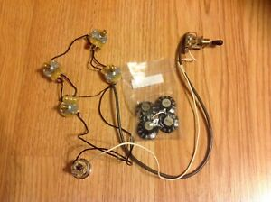 Telecaster Deluxe complete wiring harness
