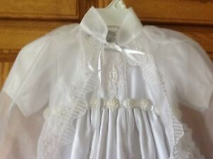 NEW Christening /Baptism Gown. Size 9/12 Months.