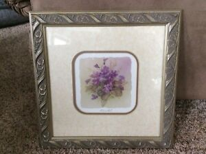 Floral Picture with Beautiful Frame - Price Reduced