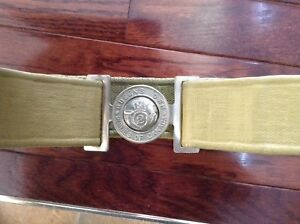 Ceinture militaire Queen's Own rifles of Canada 2e guerre