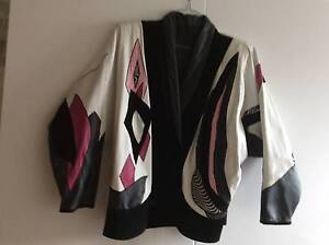 Womens Suede & Leather Vintage Jacket with batwing sleeves Kirrawee Sutherland Area Preview