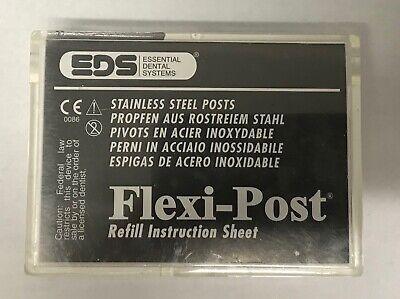 Eds Flexi-post Refill Instruction Sheet 10package 1 130-01