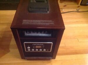 Noma infrared heater and humidifier