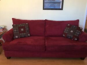 Red Sofa&Love Seat