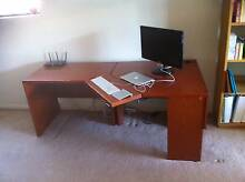 Solid corner desk with adjustable keyboard and side table Sydney City Inner Sydney Preview