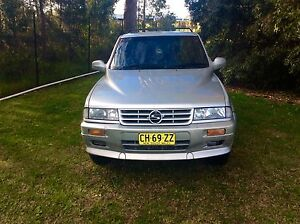 1997 Ssangyong Musso 4x4 Auto wagon 5/2017 Rego luxury Woodbine Campbelltown Area Preview