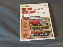 Falcon XR XT XW XY Fairlane ZD V8 Work Shop Manual St Clair Penrith Area Preview