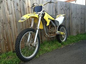 2004 RMZ 250,same as KXF 250, wrecking Chigwell Glenorchy Area Preview