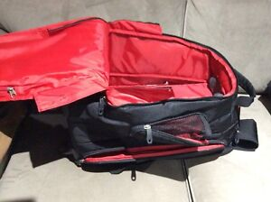 Samsonite Backpack luggage with four wheels