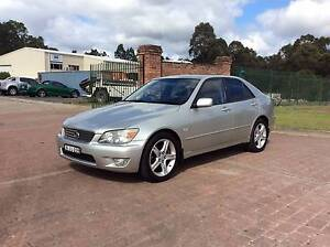 2000 Lexus IS200 Sedan SPORTS AUTO South Nowra Nowra-Bomaderry Preview