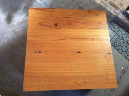 Solid Timber 4 x Door Coffee Table