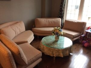 2 sofa sets available for sale
