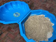 Kids clam shell sand pit +sand+sand toys Brighton Bayside Area Preview