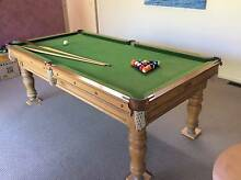 Billiard Table -7ft slate Aspendale Kingston Area Preview