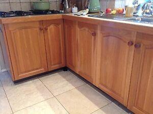 Solid Tasmanian Oak Kitchen Cupboard Doors & Drawers Baulkham Hills The Hills District Preview
