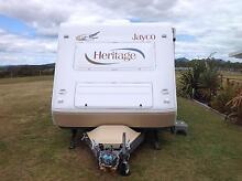 "Jayco heritage caravan 22""6  with ensuite toilet and shower Heybridge Central Coast Preview"