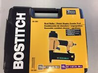 Bostitch Brad nailer 2 in 1 combo Tool BRAND NEW !