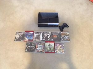 Ps3 plus games and controller