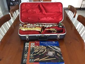 Armstrong alto saxophone made in USA complete in case. Moggill Brisbane North West Preview