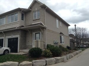 Executive 2 bedroom, 3 bathroom end unit townhouse for lease.