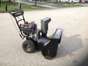 """MURRAY double stage and self propelled 24"""" wide auger snowblower"""